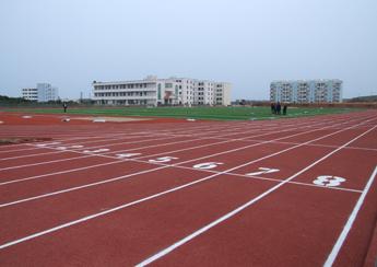 重庆三中学校400米跑道设计施工