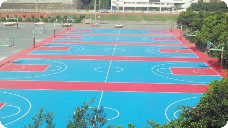 拼装地板篮球场
