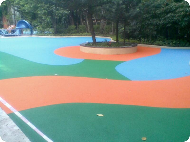 公园塑胶地面