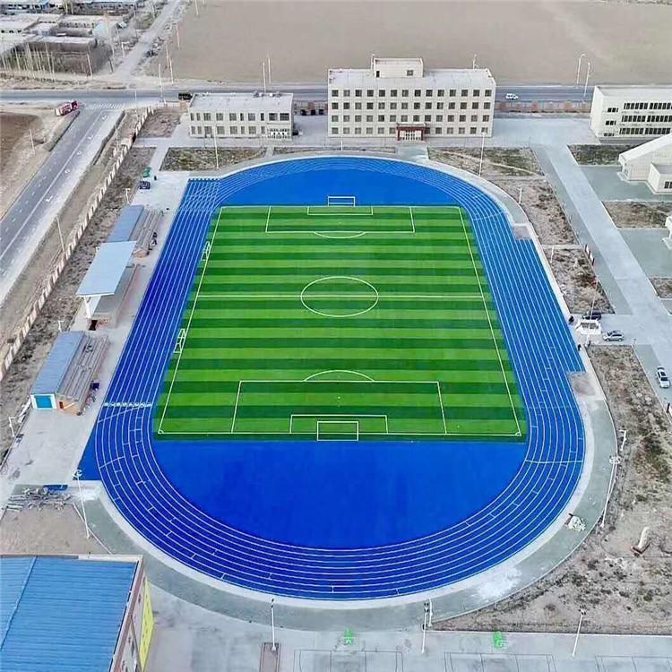南岸体育场五人制足球场人造草坪铺设
