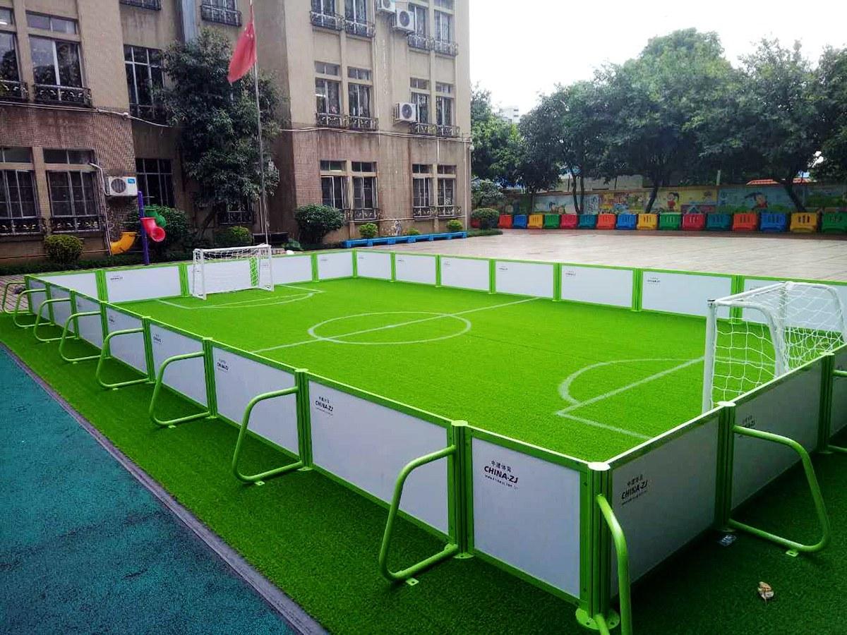 迷你型儿童笼式足球场