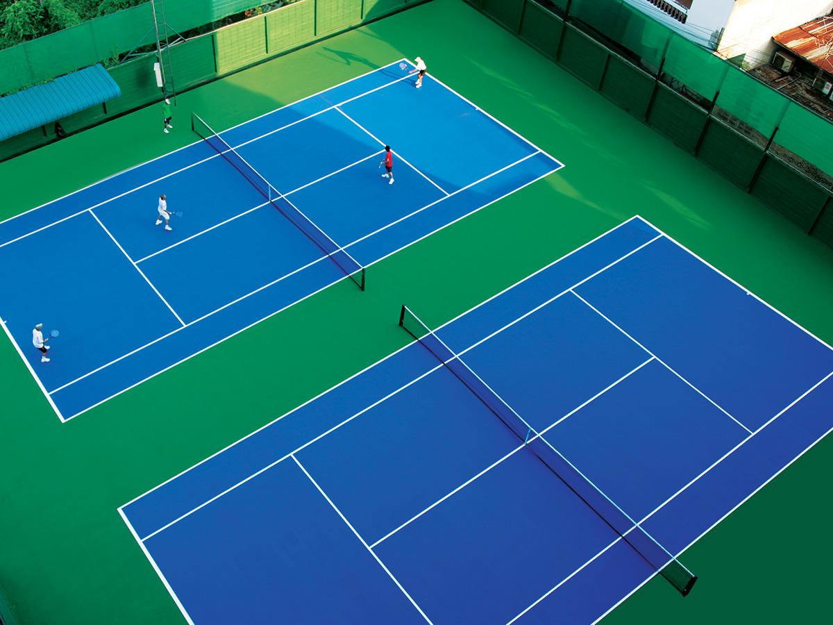 丙烯酸塑胶网球场