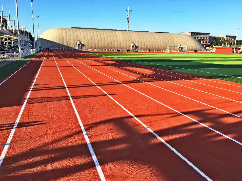 大型体育场塑胶跑道